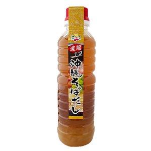 沖縄基本のだし(豚ダシ&鰹風味)濃縮タイプ350ml ペットボトル 出汁