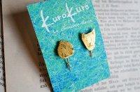 kurokuro - La chousen deux|イヤリング|わんにゃんぴーイヤリング