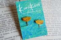 kurokuro - La chousen deux|イヤリング|猫 黄