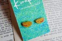 kurokuro - La chousen deux|ピアス|猫 黄