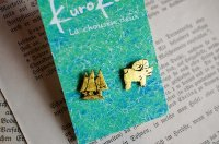 kurokuro - La chousen deux|ピアス|ツノのあるなにかと森
