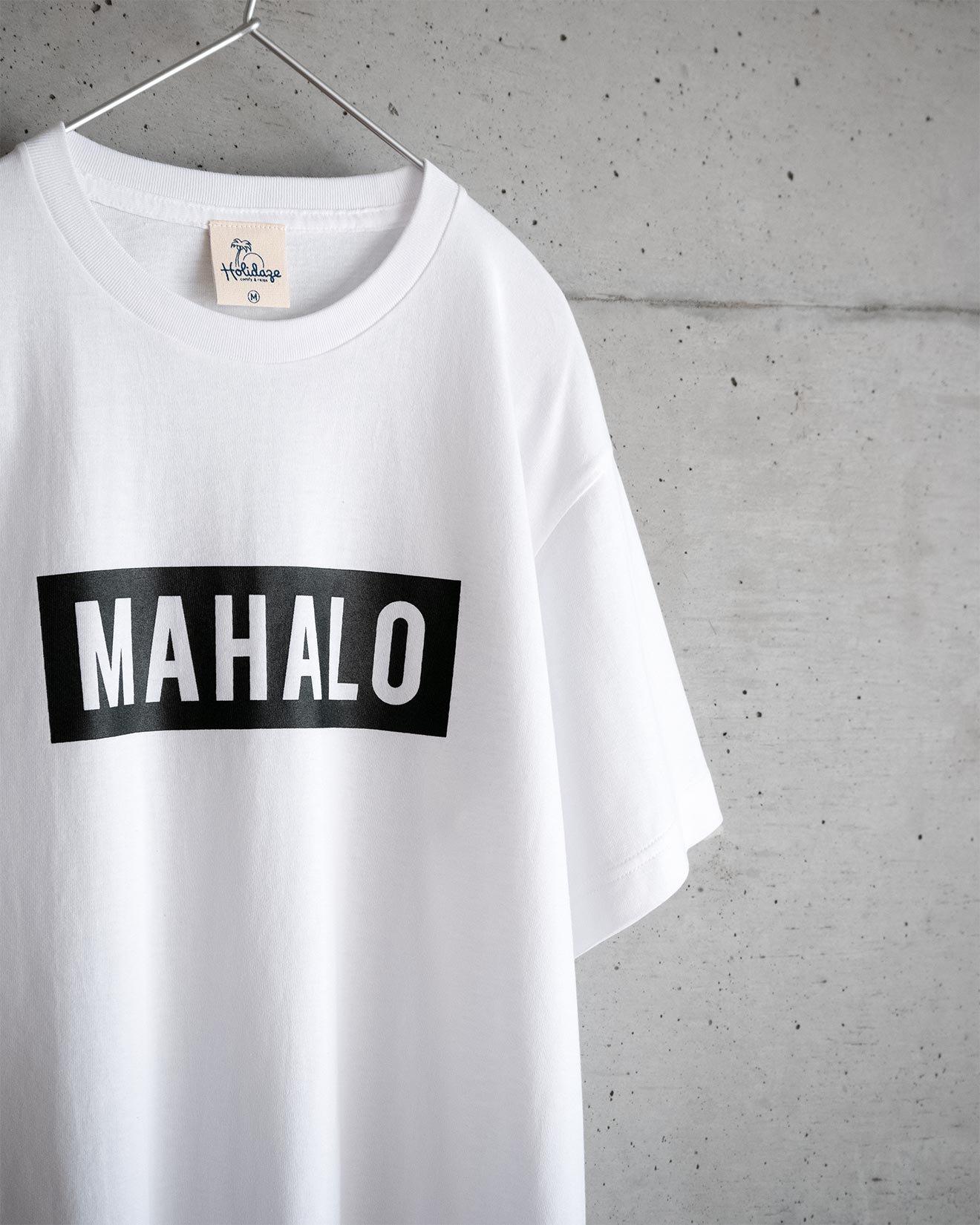 ハワイアン MAHALO BOX LOGO Tシャツ