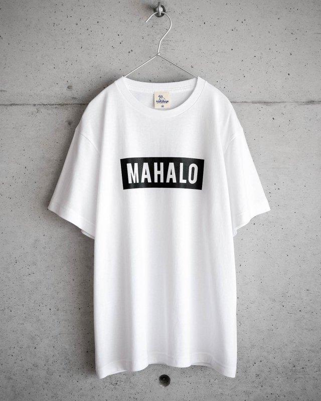 MAHALO マハロ ボックスロゴtシャツ