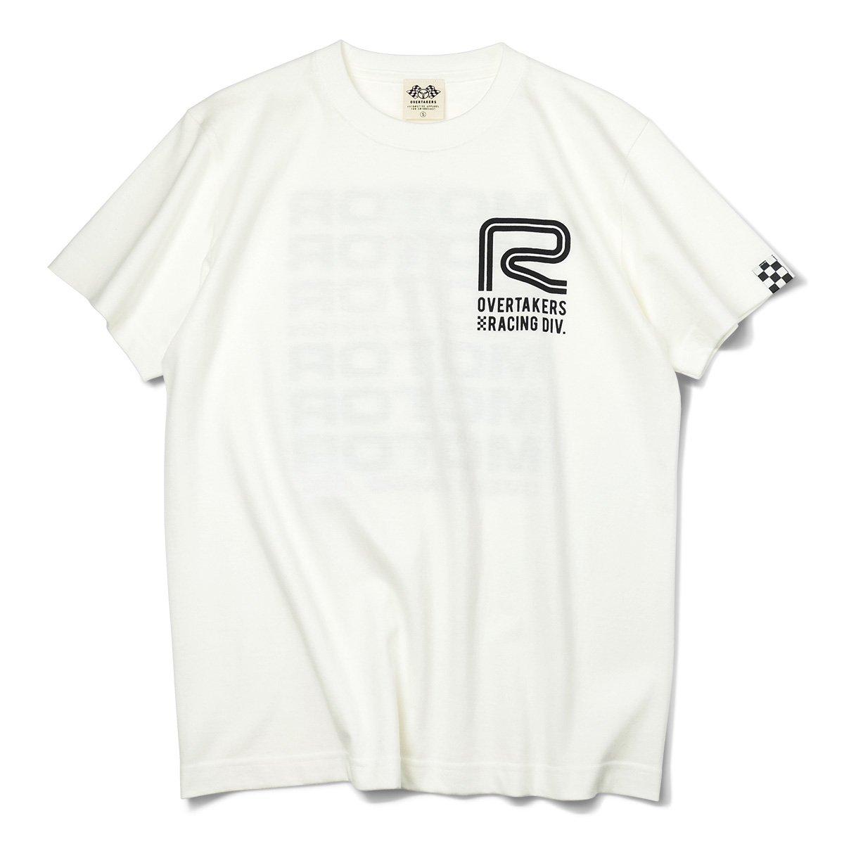 オーバーテイカーズのモーター系 OT RACING DIVISION Tシャツ