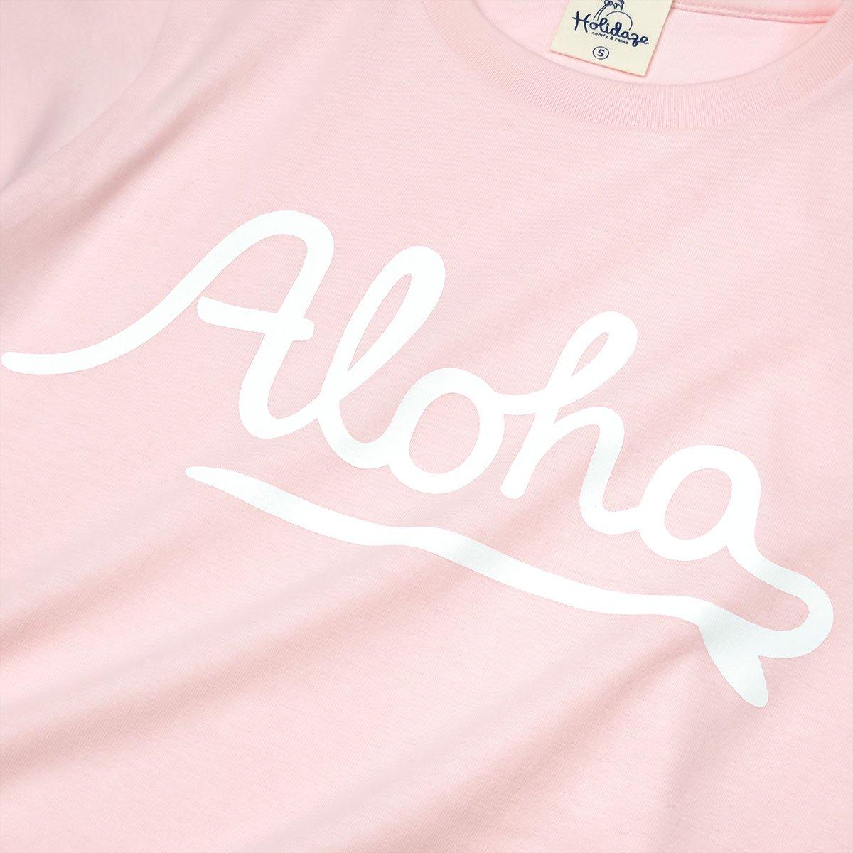 ALOHA LOGO レディースTシャツ