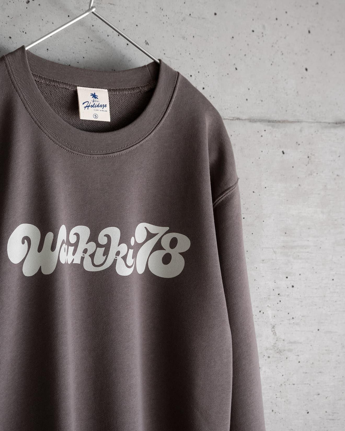 WAIKIKI'78 スウェット