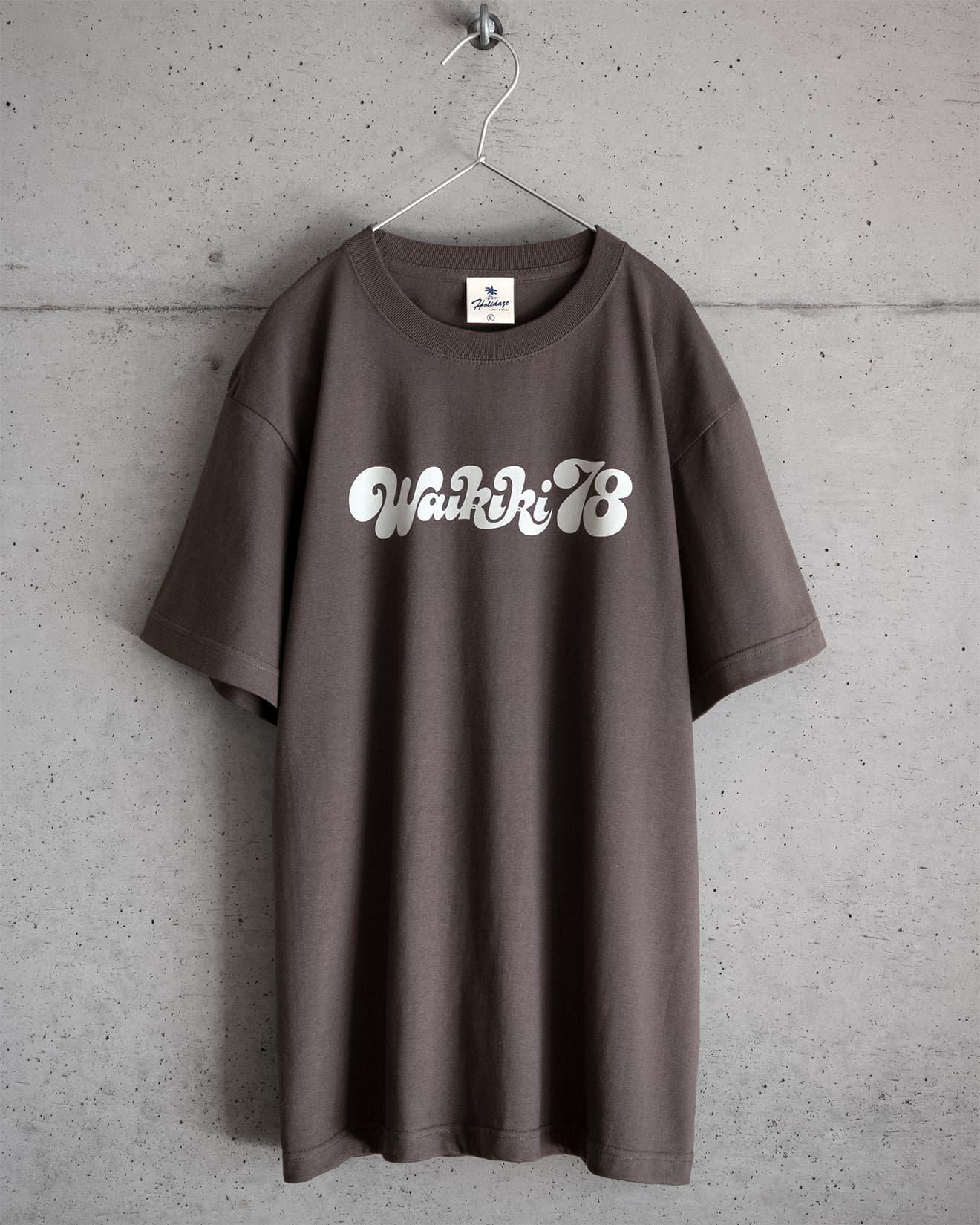 ホリデイズのサーフ系 WAIKIKI'78 Tシャツ