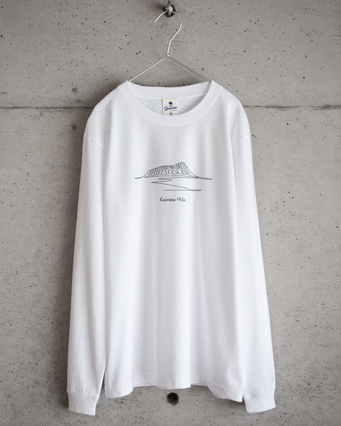 ホリデイズのサーフ系 KAIMANA HILA ロングTシャツ