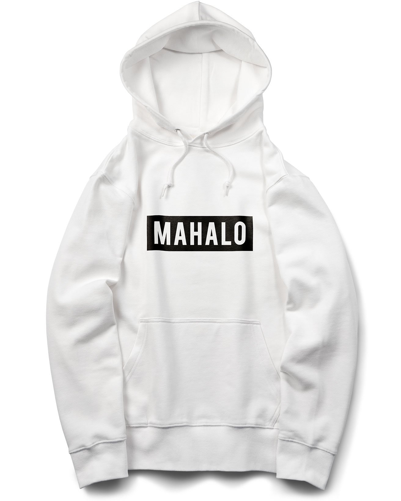 MAHALO BOX LOGO パーカ