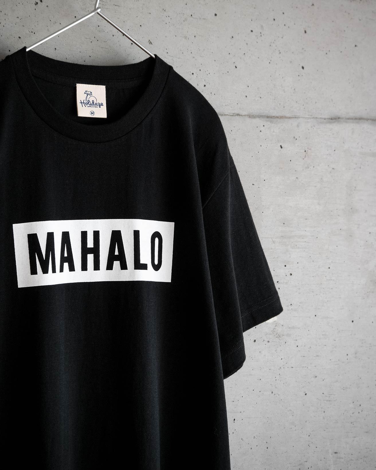 MAHALO BOX LOGO Tシャツ