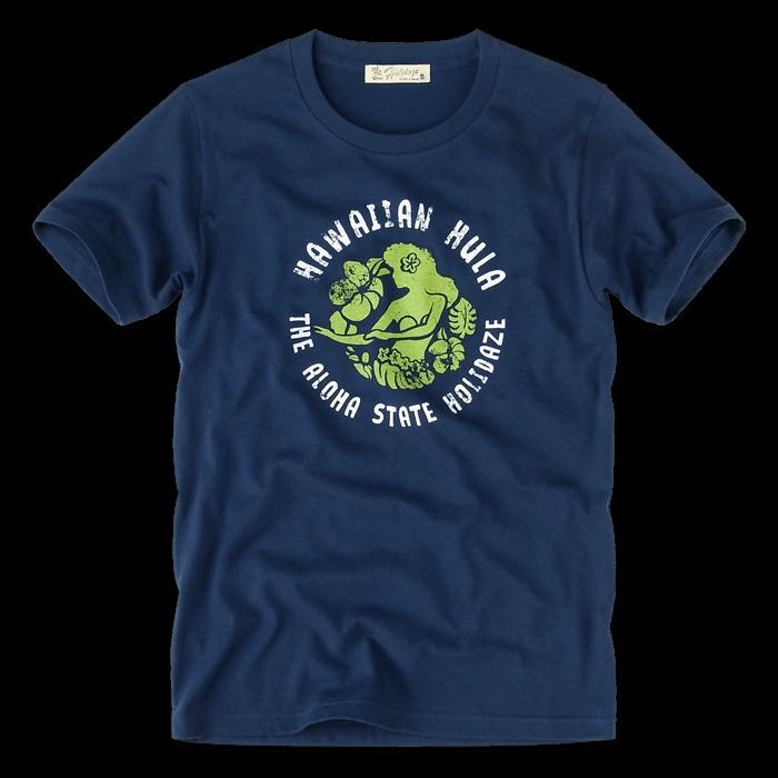 ホリデイズのサーフ系 HAWAIIAN HULA Tシャツ
