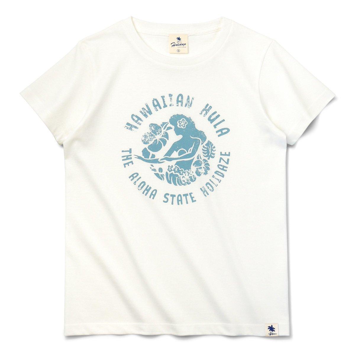 HAWAIIAN HULA レディースTシャツ
