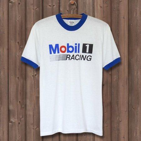 MOBIL 1 RACING OIL ヴィンテージTシャツ