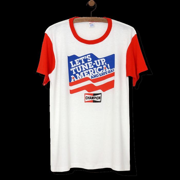 チャンピオン スパークプラグ ヴィンテージTシャツ