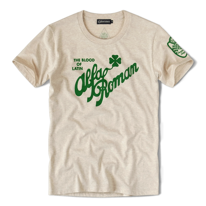 オーバーテイカーズのモーター系 ALFA ROMAN Tシャツ