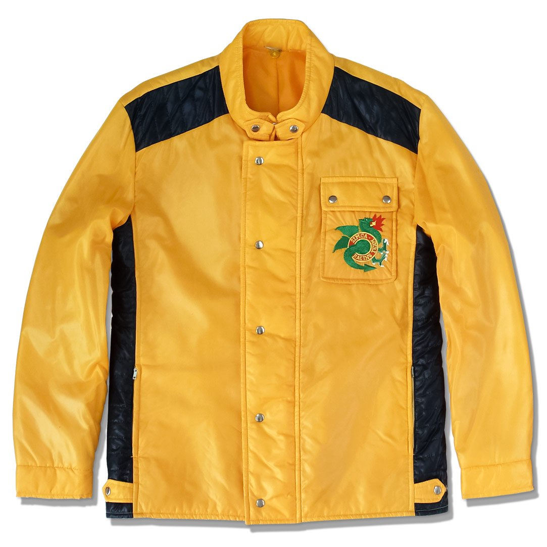 original 70s simca racing team official jacket rallye 2 rallye 3 horizon blue. Black Bedroom Furniture Sets. Home Design Ideas