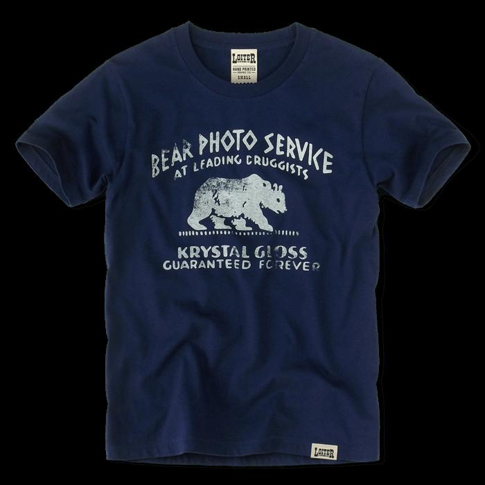 BEAR PHOTO SERVICE Tシャツ