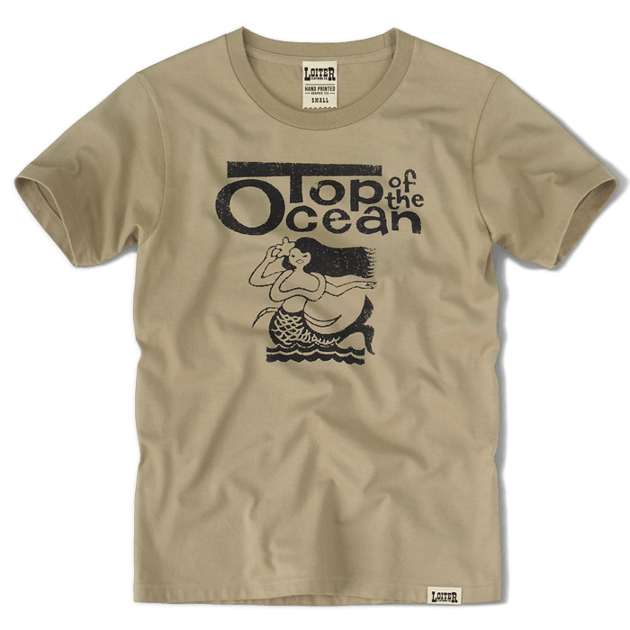TOP OF THE OCEAN Tシャツ