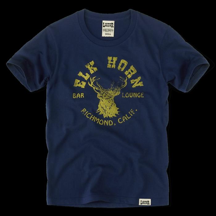 ELK HORN Tシャツ