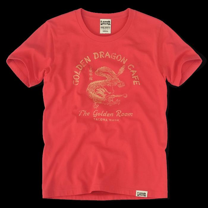 ロイターのアメカジ GOLDEN DRAGON CAFE Tシャツ