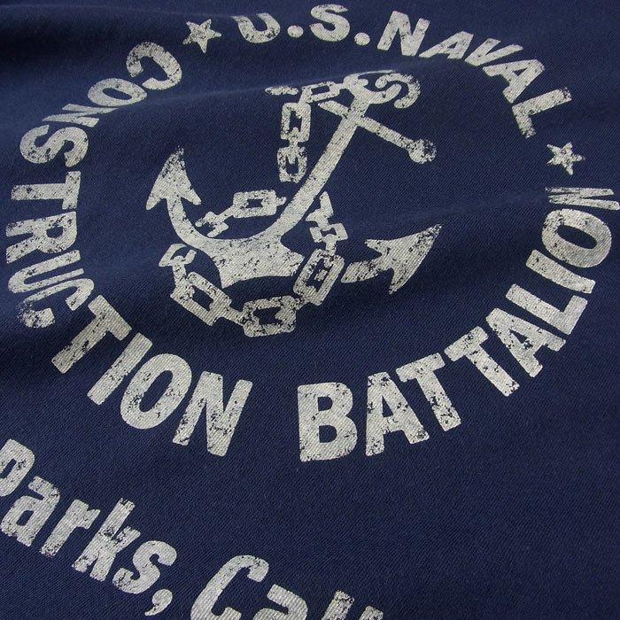 U.S.NAVAL C.B. Tシャツ