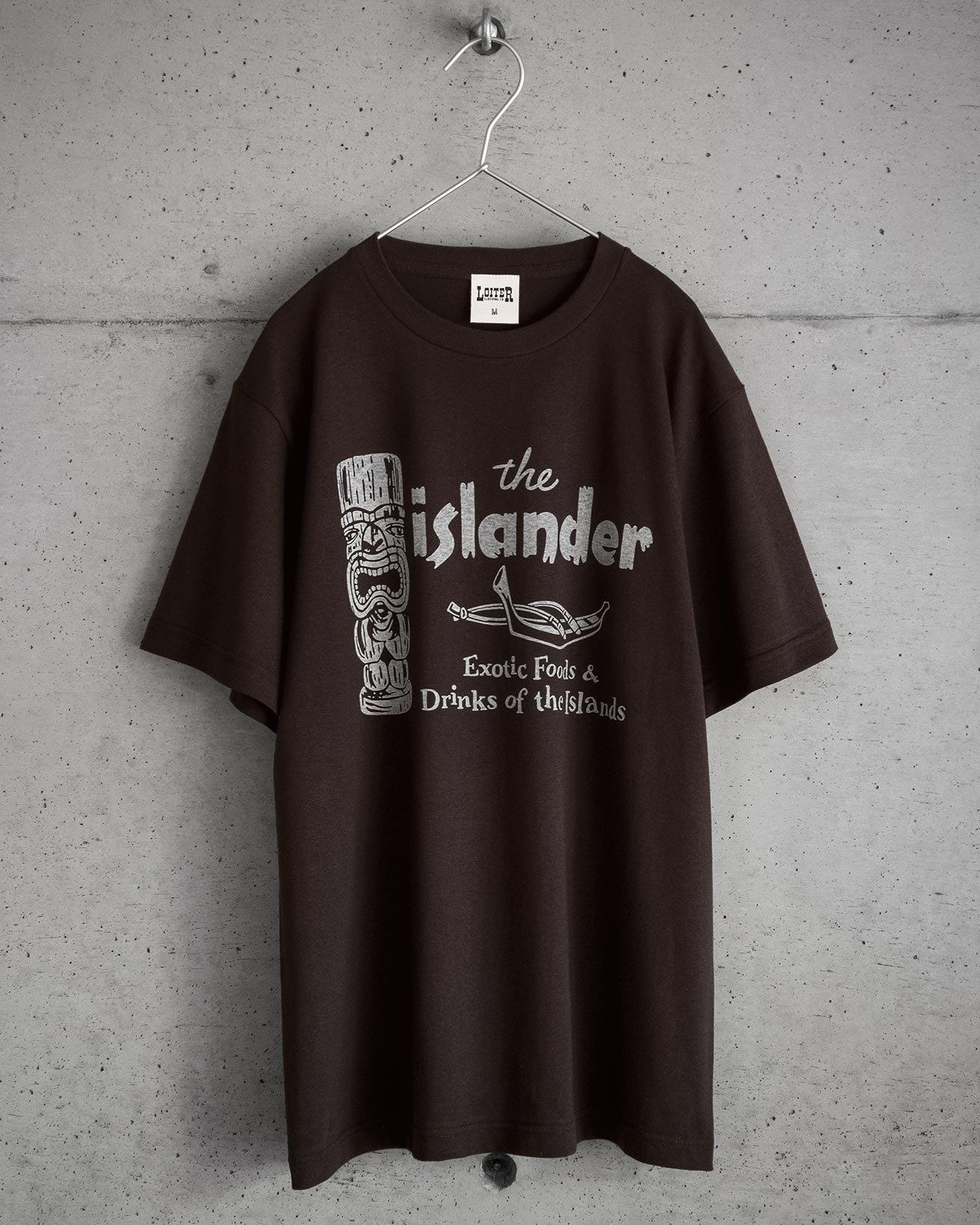ホリデイズのサーフ系 ISLANDER Tシャツ