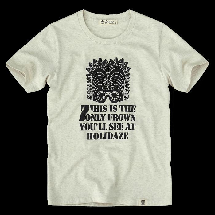 ホリデイズのサーフ系 FROWN TIKI Tシャツ