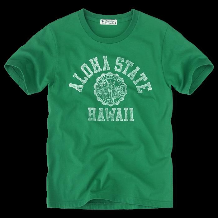 aloha state hawaii vintage tシャツ