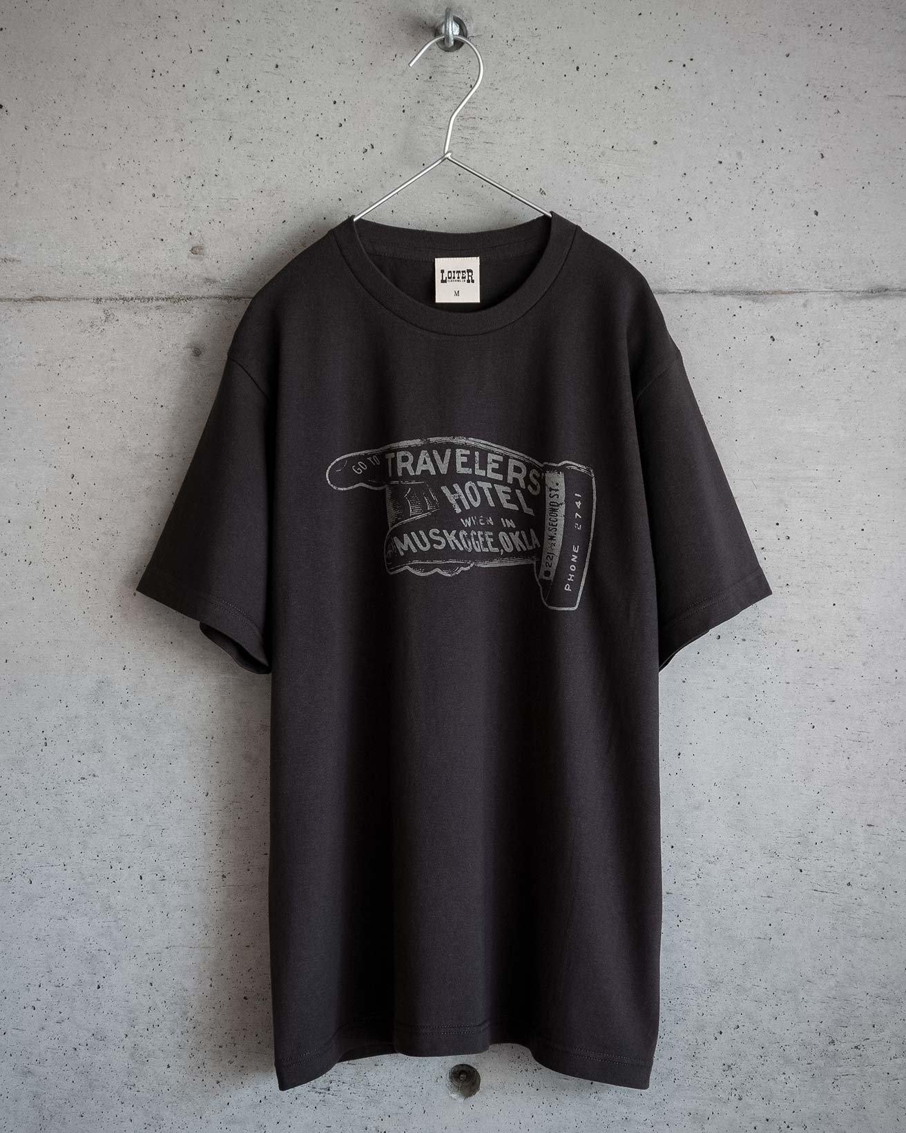 ロイターのアメカジ TRAVELERS' HOTEL Tシャツ