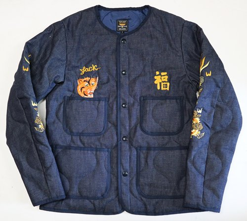 "ジェラード   ""COMBAT TOGS "" 「MIDDLE PIRIOD COLLECTION」 Quilting Jacket Custom"