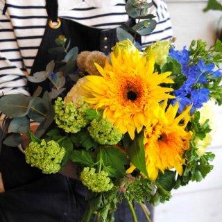 bouquet-11(男性に元気を贈る花束)