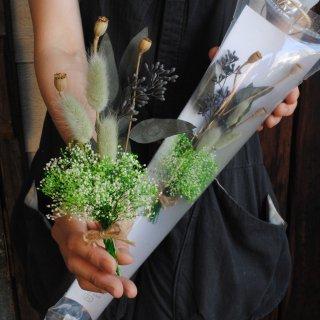 かすみ草bouquet(グリーン)