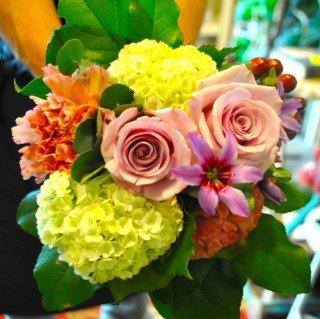 敬老の日の花束 ver.1(色とりどりで華やかに)