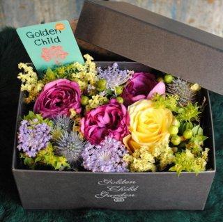 敬老の日のbox flower