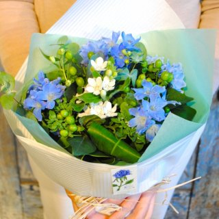 ブルーメ 結婚祝いに幸福を贈る花束