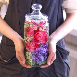 ホリフラワー rose pink -long-(結婚祝いに)