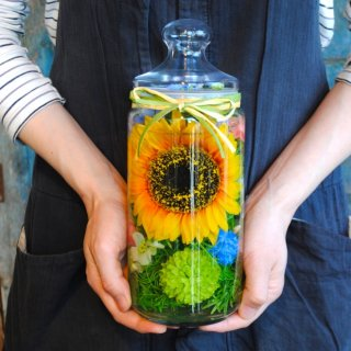 ホリフラワー sunflower-long- 退職祝・送別会に!