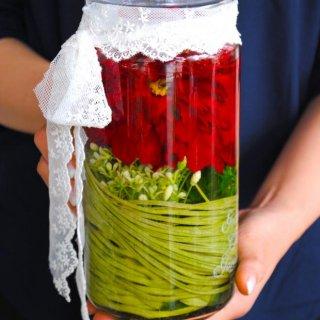 ホリフラワー antique-paeonia long-(還暦祝いに)