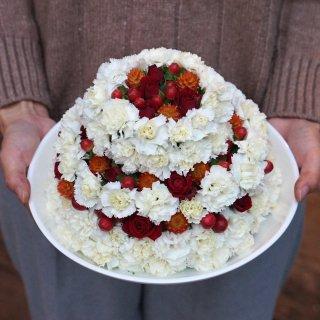 flower cake (還暦祝いに!!)