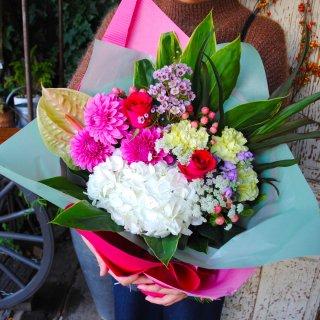 bouquet-2 (ロング丈で上品に華やかに)