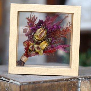 フレームフラワー mini 【bouquet red】
