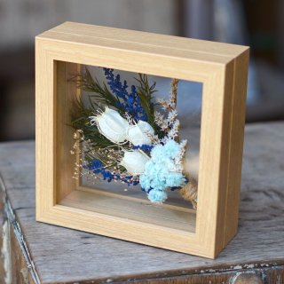 フレームフラワー mini 【bouquet blue】