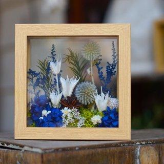 Le chanion mini box garden blue【ルシェノン ミニ ボックスガーデン ブルー】
