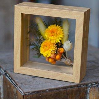 Le chanion mini bouquet orange【ルシェノン ミニ ブーケ オレンジ】(結婚祝いに)