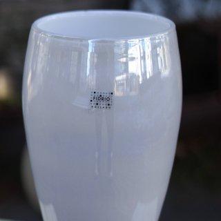 FIDRIO -White Parlemour-Vase oval