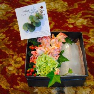 box flower & キャンドル ver.2