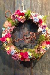 Girls Colorful Flowerリース