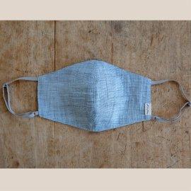 【夏に最適】「近江の麻」絹麻マスク リニューアルして登場♪