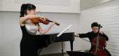 異彩を放つ国際的ヴァイオリニスト・石上 真由子と、気鋭のチェリスト・荒井 結の超絶オーバーラップ