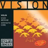 VN VISION D線 4/4サイズ シンセティックコア/シルバー巻